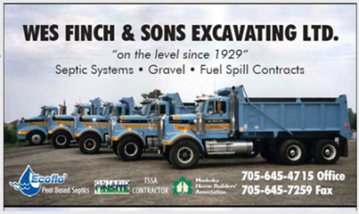Wes Finch & Sons Excavating Ltd.